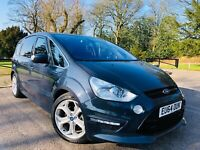 2014 FORD S-MAX TITANIUM X SPORT 2.2 TDCI DIESEL MANUAL 6 SPEED MPV 7 SEATER