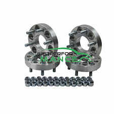 4PCS 6 Stud 25mm Wheel Spacers For Nissan Navara D40 6x114.3 Top