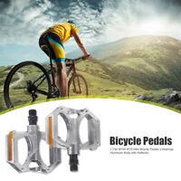 2pcs M195 2-Bearing Aluminium Fahrradpedale mit Reflektor für Mountainbike