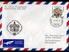 "ENVELOPPE Timbrée ""NATIONS UNIES"" Oblitération Flamme postale JULICH 1984"