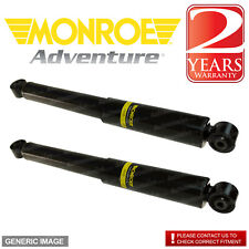 Monroe Rear Right Left Adventure Shock Absorber x2 SSANGYONG KYRON 2.7D 2005-On