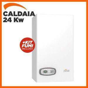 CALDAIA A GAS FERROLI DIVACONDENS D F24 A CONDENSAZIONE GPL + KIT FUMI