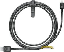 Nomad Ultra Rugged 5ft Lightning Cable Black for Apple Lightning Devices iPhone