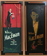 Art Deco Era Lobby Display Paintings on Boards
