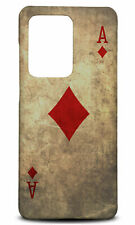 SAMSUNG GALAXY S SERIES PHONE CASE BACK COVER|ACE OF DIAMONDS PLAYING CARDS