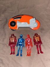 vintage tron action figures and light cycle 1981