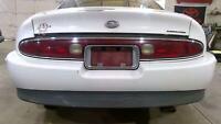95-99 Buick Riviera Rear Bumper Assembly (White 16U) OEM