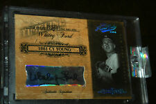 2004 Playoff Prime Cuts Timeline Signature PLATINUM Whitey Ford Yankees Auto 1/1