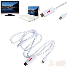 Mini Display Port to HDMI Cable for Apple Macbook iMac Mini Air 6ft Thunderbolt