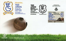 Spain 2019 FDC Federacion Guipuzcoana de Futbol 1v Cover Football Soccer Stamps