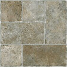 Achim STCTS70120 Sterling Self Adhesive Vinyl Floor Tile Cottage Stone/Qty 20