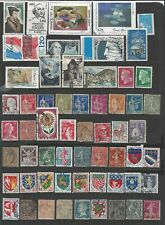 90+ Used Stamps from Fance
