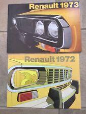Renault 1972 / 73 Brochures 4 6 12 16 plus 73 4. 5. 6. 12 15 16 17 & Van