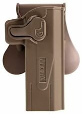 Airsoft  AMOMAX rot 360 holster Hi Capa FDE milsim tactical