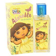 DORA ADORABLE BY MARMOL & SON 3.4 OZ EAU DE TOILETTE SPRAY FOR GIRLS NIB SEALED
