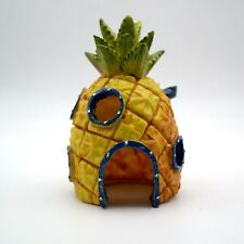 Ornamento per acquario Spongebob casa casetta a forma di ananas pesce giallo