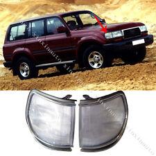 1991-1997 For Toyota Land Cruiser FJ80 LC80 Front Corner Lamp Light 1 Pair