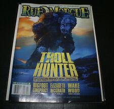 Rue Morgue #113  July 2011 - Troll Hunter Big Foot NEAR MINT FAST SHIPPING