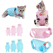More details for pet cat dog recovery suit coat after surgery wound protection vest clothes uk