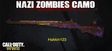 Call of Duty: WWII WW2 Nazi Zombie Animated Purple Thunder Camo DLC PS4