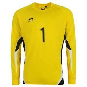 Sondico Kids Boys Core Goalkeeper Shirt Juniors Top Long Sleeve Crew Neck
