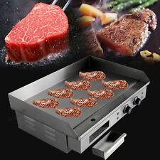 Elektro Gastronomie Grillplatte Grill Bratplatte Bräter Griddleplatte Griddle