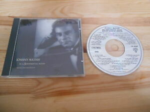 CD Jazz Johnny Mathis - In A Sentimental Mood (18 Song) COLUMBIA
