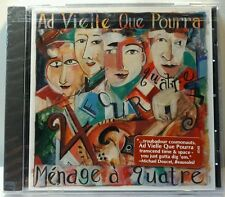 M'nage A Quatre * by Ad Vielle Que Pourra (CD, Nov-1996, Xenophile) (cd4382)