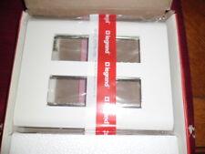 LEGRAND 6745 PLACCA 59e bianco con telaio del Modulo EX 12