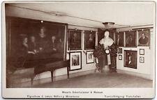 orig.1890s Kabinett-Karte Mozarts Geburtszimmer*Salzburg*Mozarteum