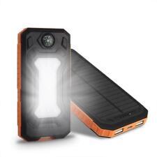 Batería Externa Impermeable 300000MAH con Dos USB Cargador Solar Funda