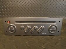 2005 RENAULT MEGANE SCENIC 1.6 VVT CD PLAYER HEAD UNIT 8200300859