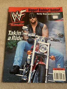 WWF Magazine October 2000 WWE Undertaker. Hardy Boyz Posters