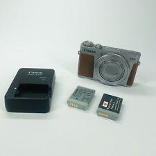 Canon PowerShot G9 X Mark II 20.1MP Digital Camera w/ 2 Batteries & Charger (F3)
