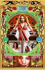 """Tori Amos -11x17"""" collage poster - vivid colors/deep blacks - signed by artist"""