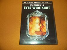 New listing Eyes Wide Shut Unrated Erotic Dvd Tom Cruise Nicole Kidman 2 Disc Special