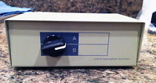 2-Way A/B I/O Parallel Printer Switch Box, Metal