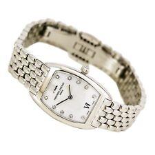 Frederique Constant FC-200MPWD1T26B Women's Art Deco MOP Dial Steel Bracelet Dia