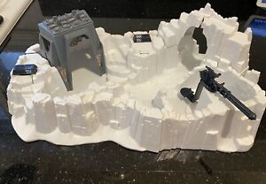 Vintage 1980 Star Wars ESB Hoth IMPERIAL ATTACK BASE - Complete!