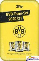 2020/21 Topps Borussia Dortmund BVB MEGA TIN Team Set-Haaland, Reyna, Sancho+++