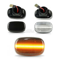2x LED Side Repeater Indicator Lights Turn Signal For Toyota Hilux Celica  */!
