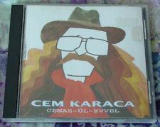 """Turkish Pop/Rock CEM KARACA """"Cemaz-ül-evvel"""" CD 1994 KALAN MUZIK Apaşlar EX"""