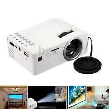 Portable LED LCD Mini Projector HD 1080P Home Theater Cinema HDMI/USB/TF/AV/HDTV