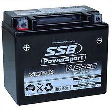 TRIUMPH Bonneville T100 Thruxton Hi Performance Battery 2002 - 2007 Carb 12 VOLT