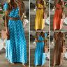 Summer Long Maxi Dress Evening Cocktail Party Beach Boho Dresses Women Sundress