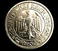 Historical Antique Authentic - German 1928 50 Reichspfennig Coin - Rare Coin