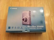 Canon PowerShot SD630 Digital ELPH 6.0 MP Camera SILVER +2GB SD card & Free Case