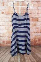 Torrid Sz 0 / 12 Blue Stirped Dress
