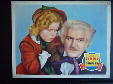 1936 DIMPLES - LOBBY CARD - SHIRLEY TEMPLE + FRANK MORGAN (THE WIZARD OF OZ )