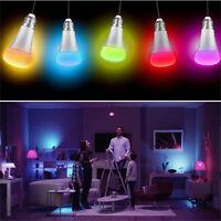 10W E27 LED RGB Smart Bulb Light Lamp Color Changing W/ Remote Control AC85-265